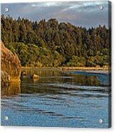 Little River Panorama Acrylic Print