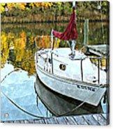 Little Sailboat Acrylic Print