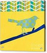 Little Song Bird Acrylic Print