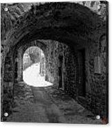 Little Street La Roche Alba Ardeche France Acrylic Print