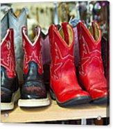 Little Tykes Cowboy Boots Acrylic Print