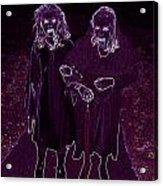 Little Vampires Acrylic Print