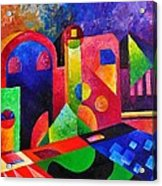Little Village By Sandralira Acrylic Print