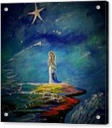 Little Wishes One Acrylic Print