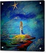 Little Wishes Too Acrylic Print