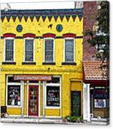 Little  Yellow Store Acrylic Print