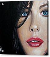 Liv Tyler Acrylic Print