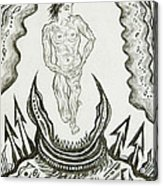 Live Nude Male No. 27 Acrylic Print