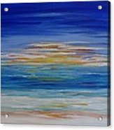 Lively Seascape Acrylic Print