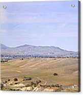 Livermore Valley Panorama Acrylic Print