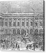 Liverpool Exchange, 1854 Acrylic Print