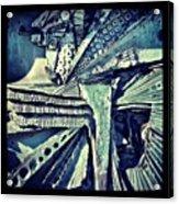 #liverpool #liverpoolcathedrals #walls Acrylic Print