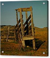 Livestalk Loader In South Dakota Acrylic Print