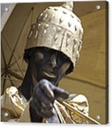 Living Statue Acrylic Print