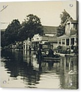 Livingston Manor - 1938 Flood Acrylic Print