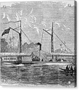 Livingstone: Steam Launch Acrylic Print by Granger