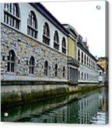 Ljubljana Reflections Acrylic Print