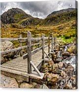 Llyn Idwal Bridge Acrylic Print
