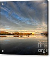Llyn Trawsfynydd - October 2012 Acrylic Print