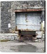 Loading Dock Door 1 Acrylic Print