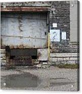 Loading Dock Door 2 Acrylic Print