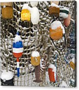 Lobsta Snow Net Acrylic Print