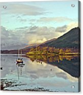 Loch Leven Moorings Acrylic Print