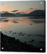 Loch Linnie And The Ardgour Mountains Acrylic Print