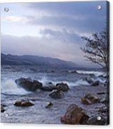 Loch Ness Shoreline At Dusk Acrylic Print