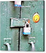 Locked Tight Acrylic Print