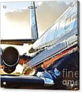 Lockheed Jet Star Side View Acrylic Print