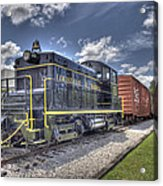 Locomotive II Acrylic Print