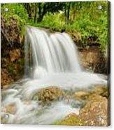 Logan Canyon Falls Acrylic Print