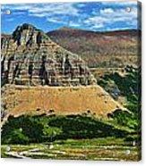 Logan Pass Panorama Acrylic Print