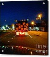Logging Truck Ahead Acrylic Print