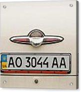 Logos Old Car Acrylic Print by Odon Czintos