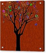 lollipop Tree Acrylic Print
