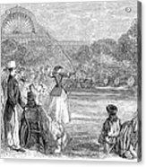 London: Archery, 1859 Acrylic Print