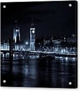 London At  Night View Acrylic Print