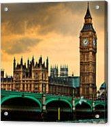 London - Big Ben And Parliament Acrylic Print