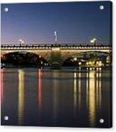 London Bridge At Dusk Acrylic Print