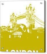 London Bridge Poster Acrylic Print