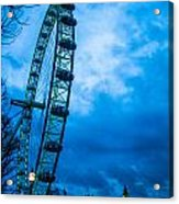 London Eye At Westminster Acrylic Print