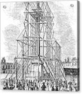 London: Nelson Column, 1845 Acrylic Print
