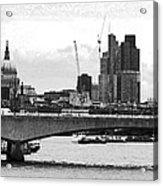 London Panorama Acrylic Print