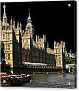 London Parliament Acrylic Print