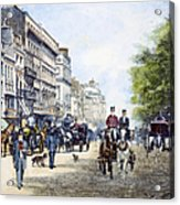London: Piccadilly, 1895 Acrylic Print