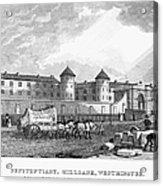 London: Prison, 1829 Acrylic Print