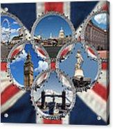 London Scenes Acrylic Print