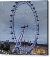 London Skyline Edf Eye Acrylic Print